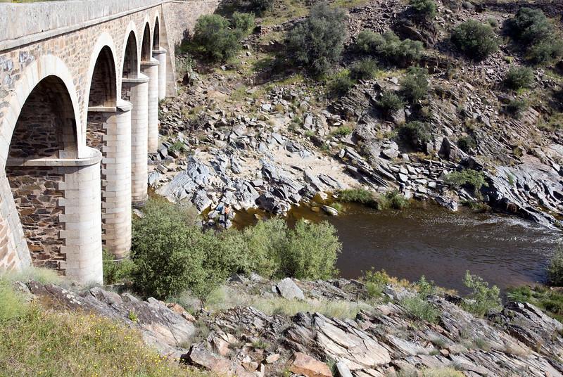 Salor river, Caceres, Spain