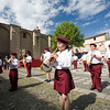 Children's brass band, town of Valencia de Alcantara, province of Caceres, autonomous community of Extremadura, southwestern Spain