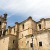 Santa Maria la Mayor church, Brozas, province of Caceres, Extremadura, Spain