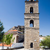 17th century bell tower, Montanchez, Spain