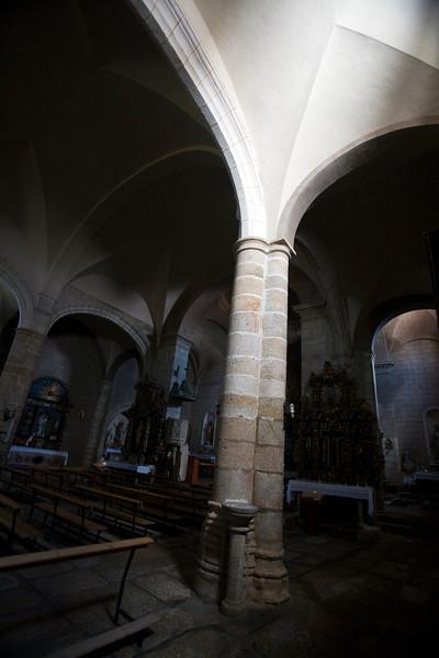 Interior of Encarnacion church, town of Valencia de Alcantara, province of Caceres, autonomous community of Extremadura, southwestern Spain