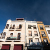 Buildings on Main Square, town of Plasencia, province of Caceres, autonomous community of Extremadura, western Spain