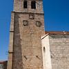 Bell tower of San Pedro church, Garrovillas, Caceres, Spain