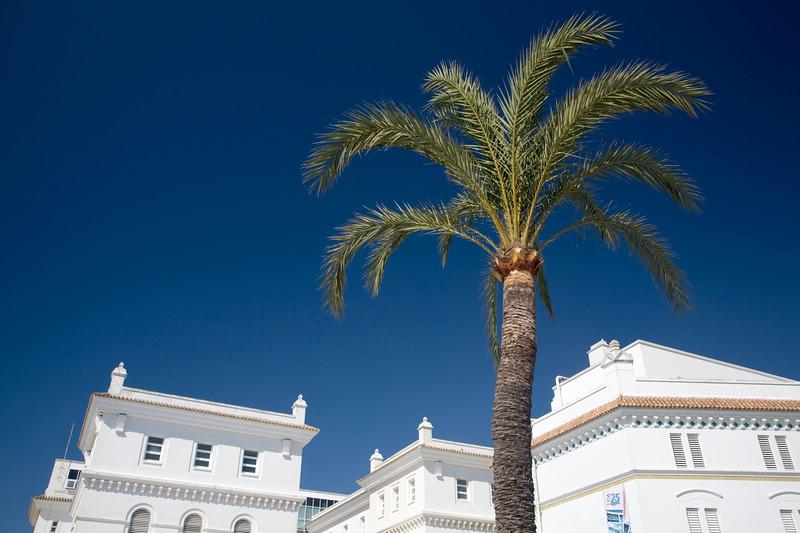 Colorful, idilic image of Cadiz, Spain