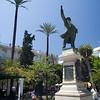 The great speaker and politician of the 19th century Emilio Castelar, who was president of the First Spanish Republic. Plaza de la Candelaria (Candelaria Square), Cadiz, Spain.