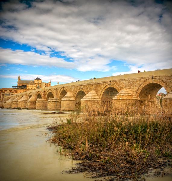 Roman bridge, Cordoba, Spain.