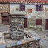 Old stone houses, Yanguas, Soria, Spain