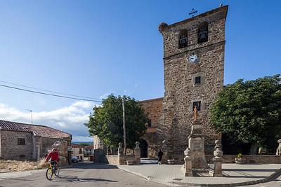 Santa Lucia church, Almarza, Soria, Spain
