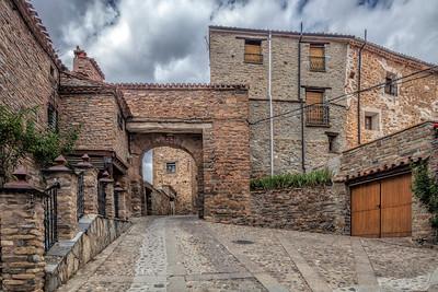 Puerta del Rio (River Gate), Yanguas, Soria, Spain