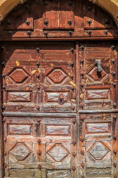 Old door, Yanguas, Soria, Spain