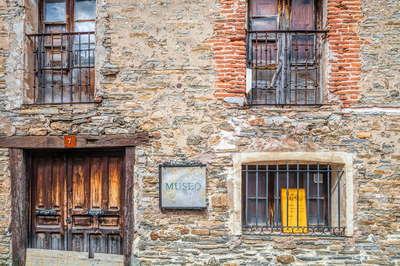 Old stone house, Yanguas, Soria, Spain
