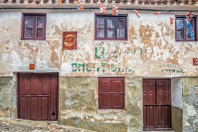 Abandoned tavern, Yanguas, Soria, Spain