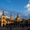 Plaza Mayor (Main Square), El Burgo de Osma, Soria, Spain.