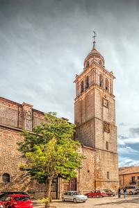 Colegiata (collegiate church), Medinaceli, provinca of Soria, Spain