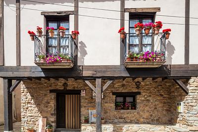 Typical house, Yanguas, Soria, Spain