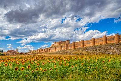 Castle of Berlanga de Duero, province of Soria, Spain