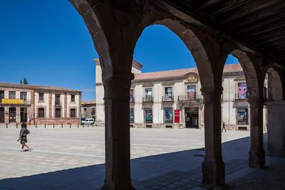 Ducal Palace at Main Square, Medinaceli, province of Soria, Spain