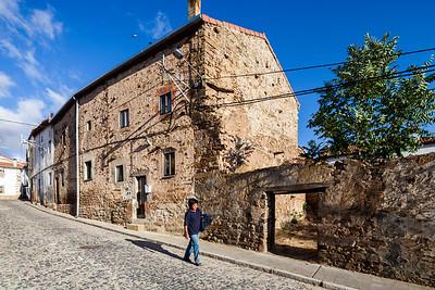 Typical architecture, Almarza, province of Soria, Spain