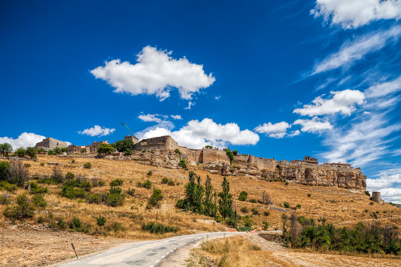 Fortified town of Rello, province of Soria, Spain