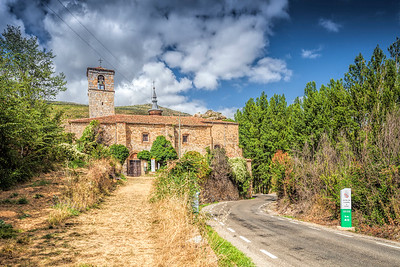Santa Maria church, Yanguas, province of Soria, Spain