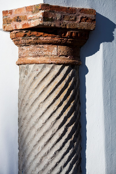 Attached column, town of Carmona, province of Seville, Spain