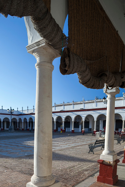 Market, town of Carmona, province of Seville, Spain