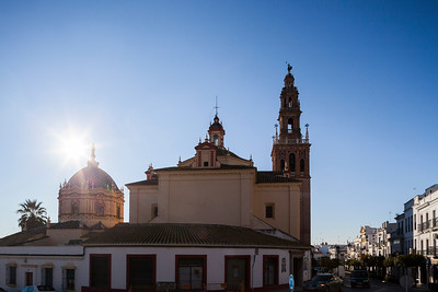 San Pedro church, town of Carmona, province of Seville, Spain