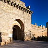 Parador de Carmona Hotel, a former Moorish Alcazar (Castle), town of Carmona, province of Seville, Spain