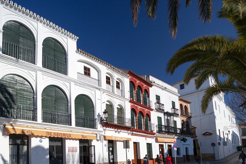 San Fernando square, town of Carmona, province of Seville, Spain