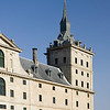Partial view of El Escorial facade.