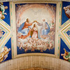 Fresco painting at El Escorial basilica by the Italian painter Cambiaso