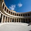 Palace of Charles V courtyard, Granada, Spain