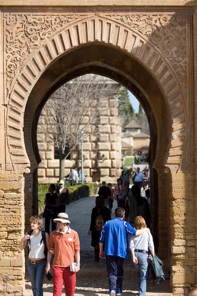 Puerta del Vino (Wine Gate), Alhambra, Granada, Spain