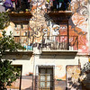 """Graffiti by the artist known as """"El Niño de las Pinturas"""", Granada, Spain"""