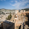 View of the Alcazaba, Alhambra, Granada, Spain
