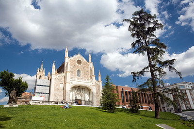 Jeronimos Church, Madrid, Spain