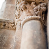Romanesque capital, San Isidoro basilica, town of Leon, autonomous community of Castilla y Leon, northern Spain