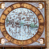 Cathedral clock, town of Leon, autonomous community of Castilla y Leon, northern Spain