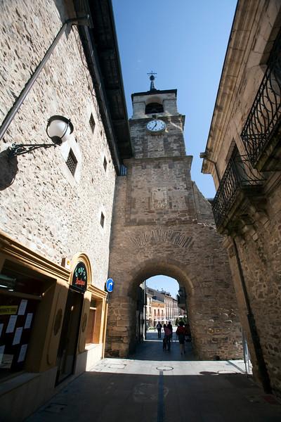 Clock Tower, town of Ponferrada, El Bierzo region, province of Leon, autonomous community of Castilla and Leon, northern Spain