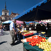 Market, Plaza Mayor (Main Square), town of Leon, autonomous community of Castilla y Leon, northern Spain