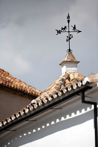 Weather vane, town of Ronda, province of Malaga, Andalusia, Spain
