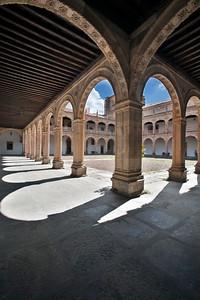 Claustro del Colegio Arzobispo Fonseca, Salamanca, España