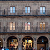 Plaza Mayor or main square, town of Salamanca, autonomous community of Castilla and Leon, Spain