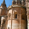 Old Cathedral (in Romanesque style), town of Salamanca, autonomous community of Castilla and Leon, Spain