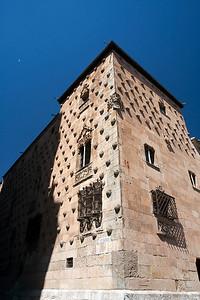The House of Shells, town of Salamanca, autonomous community of Castilla and Leon, Spain