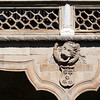 Detail from the cloister, House of the Shells, town of Salamanca, autonomous community of Castilla and Leon, Spain