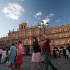 Plaza Mayor or main square (baroque, 18th century), town of Salamanca, autonomous community of Castilla and Leon, Spain