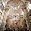 Interior of Purisima Concepcion church (18th century), town of Salamanca, autonomous community of Castilla and Leon, Spain