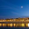 Betis street by Guadalquivir river