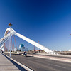 Barqueta Bridge, built for Expo 92. Seville, Spain